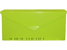houseArt No. 10 Letterbox - key lime