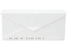 houseArt No 10. Letterbox - marshmallow white