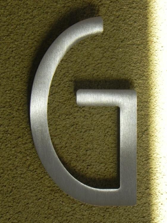 houseart house letter g